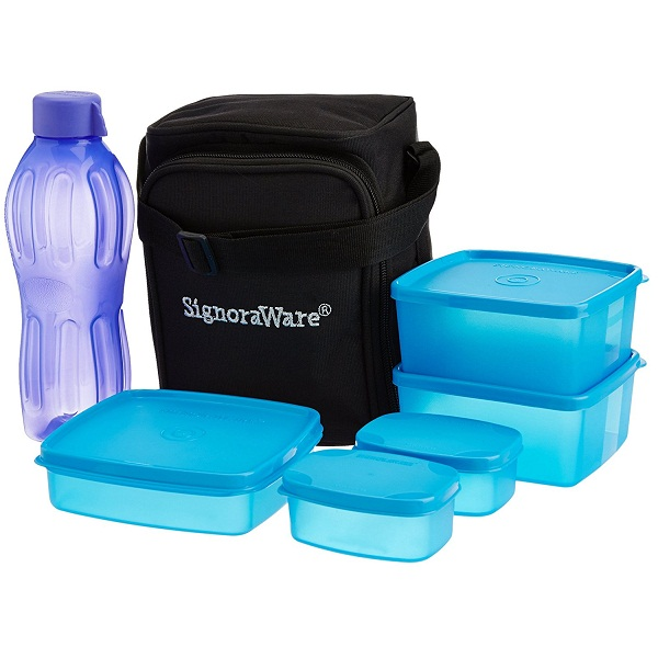 Signoraware Trendy Lunch Box with Bag