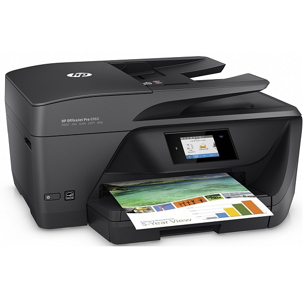 HP OfficeJet Pro 6960 Color All in One Printer