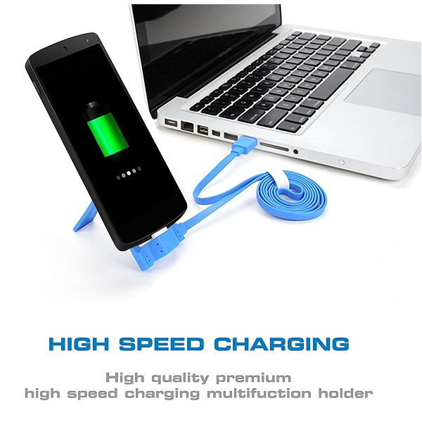 Universal Micro USB Mobile Charge and Sync docking stand