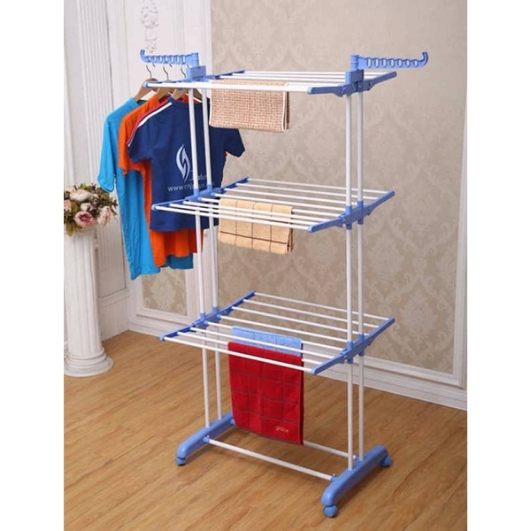 Tuelip Rack Stainless Steel Floor Cloth Dryer Stand