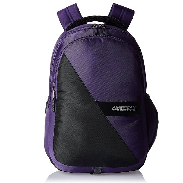 American Tourister Encarta Purple Laptop Backpack