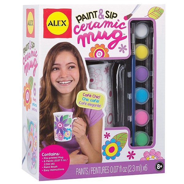 Alex Toys Craft Paint and Sip Ceramic Mug