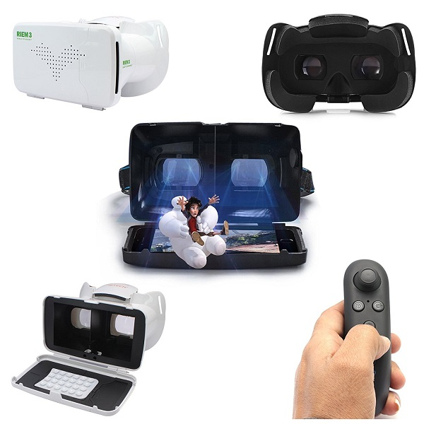 DMG Riem III Google Cardboard 3D Virtual Reality Headset