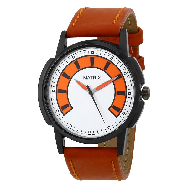 Matrix Analog Multi Colour Dial Mens Watch