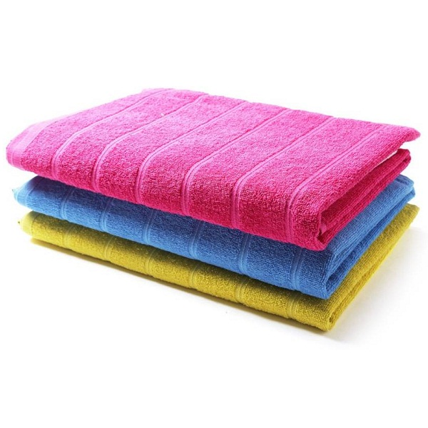 WELHOME Cotton Bath Towel Set