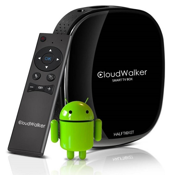 Cloudwalker Halfticket Wifi streaming box
