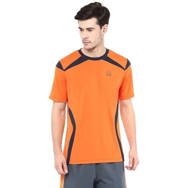 Aurro Sports Orange Roster T Shirt