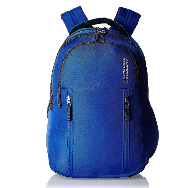 American Tourister Encarta Blue Laptop Backpack