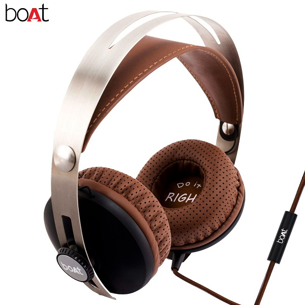 boAT BassHeads 800 Super Extra Bass Wired Headphone