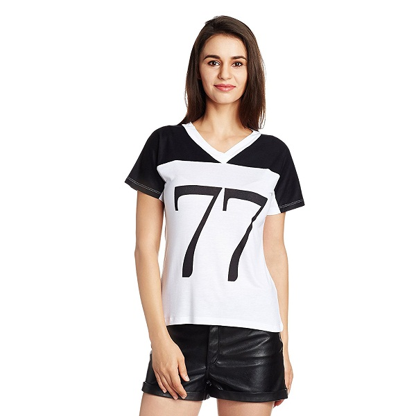 Style Quotient By NOI Womens Solid TShirt