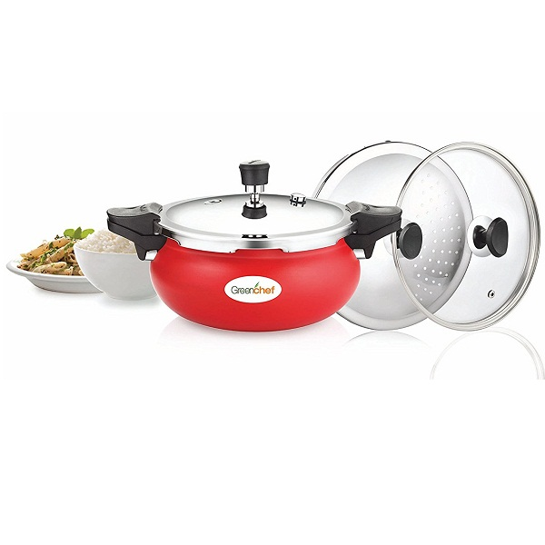 Greenchef Unique 3 L Multi Purpose Pressure Cooker