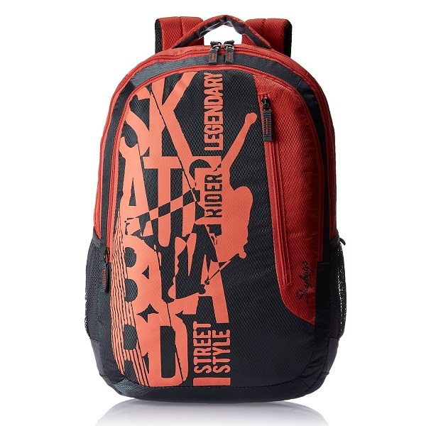 Skybags Red Polyester 32Liters Casual Backpack