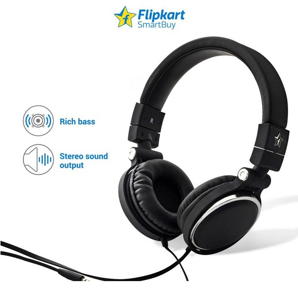 Flipkart SmartBuy On the Ear Headphones