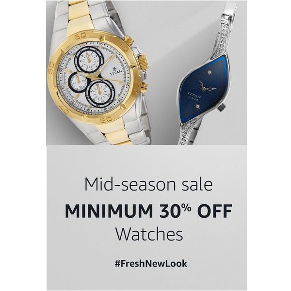 Mid Season Sale On Watches
