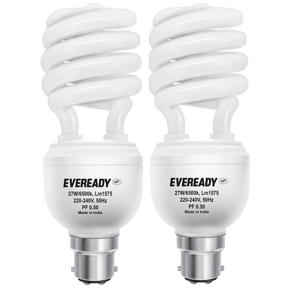 Eveready ELS 27Watt CFL 2Pcs
