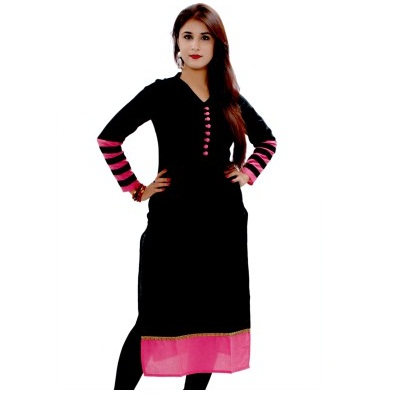 Gmi Casual Striped Womens Kurti