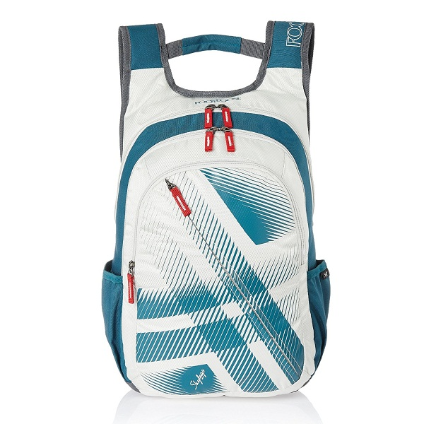 Skybags Blitz 26 Ltrs White Casual Backpack