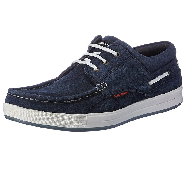 Red Chief Mens Leather Boat Shoes