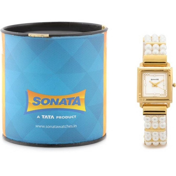 Sonata 8086YH01 Analog Watch