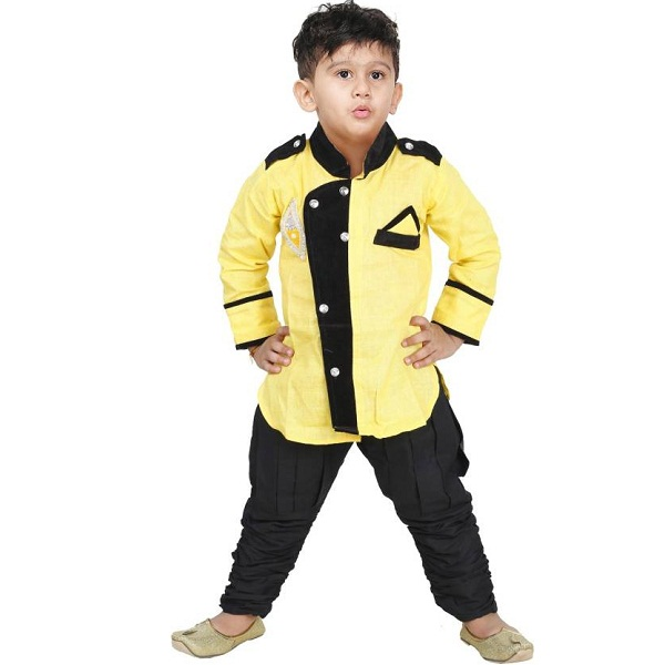 JBN Creation Boys Kurta and Pyjama Set