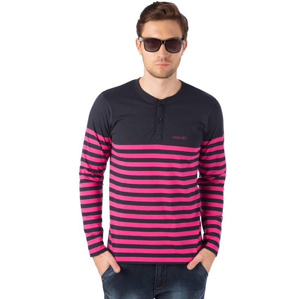 Rodid Striped Mens TShirt