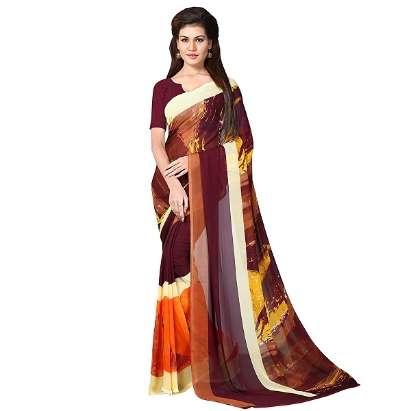 Oomph Womens Georgette Sarees