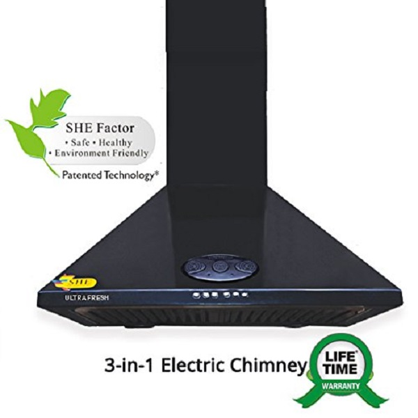 Great Offers on Ultrafresh Tulsi Chimney with Air Purifier