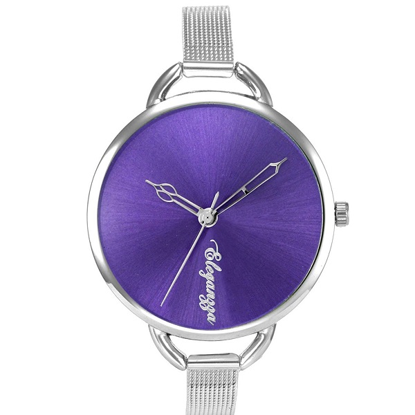 Eleganzza Analogue Purple Dial Womens Watch