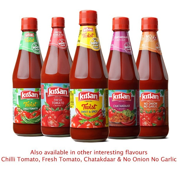 Kissan Sweet and Spicy Ketchup