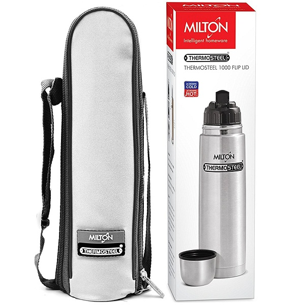 Milton Thermosteel Flip Lid Flask 1000ml