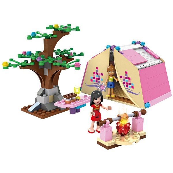 Saffire Girls Picnic Play Campers Building Blocks