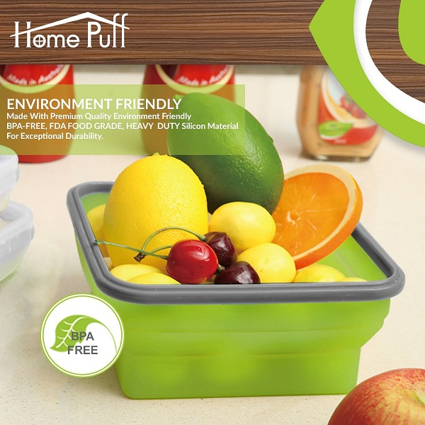 Home Puff Collapsible Lunch Box