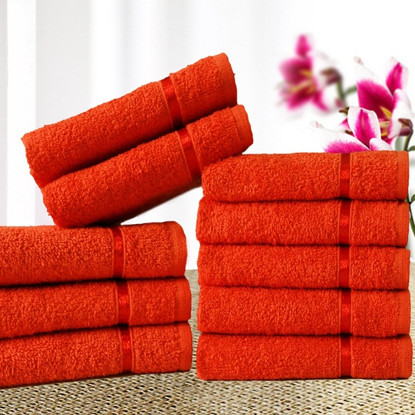 Story Home 10 Piece Face Towel Set