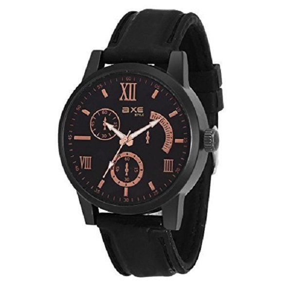 Axe Style RANGER Analog Black Dial Watch
