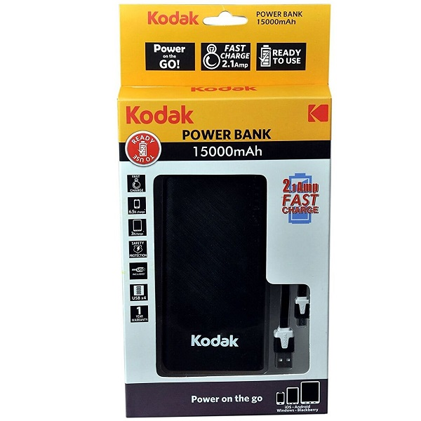 Kodak 15000mAh Power Bank