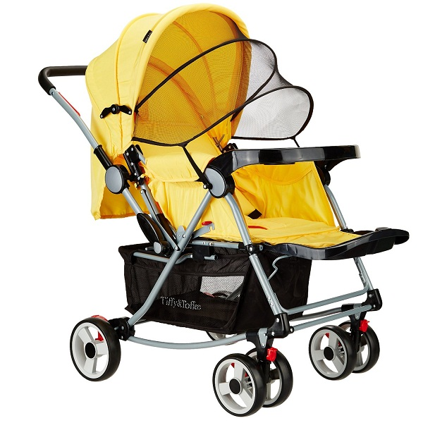 Tiffy And Toffee Baby Stroller Pram with Rocker