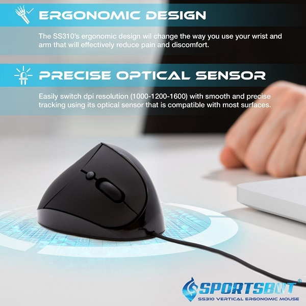 SportsBot SS310 Vertical Mouse