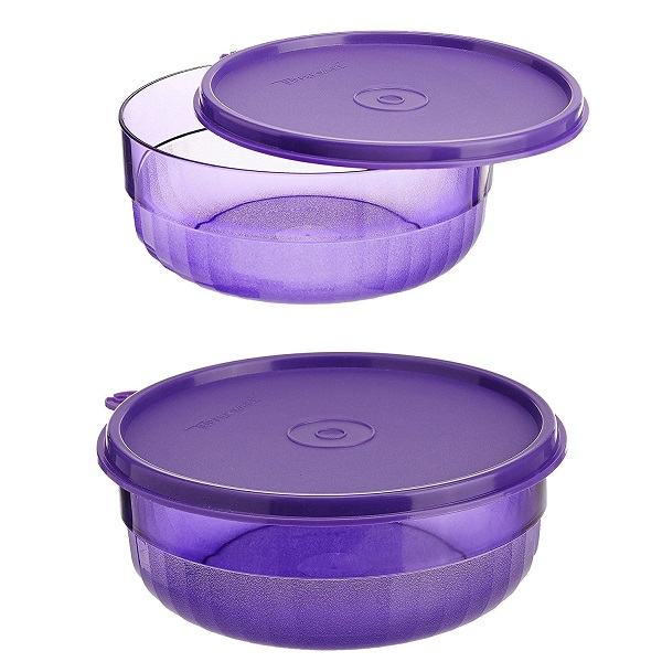 TUPPERWARE deluxe bowls set of 2
