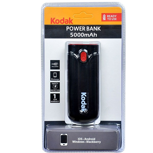 Kodak 5000mAh Power Bank