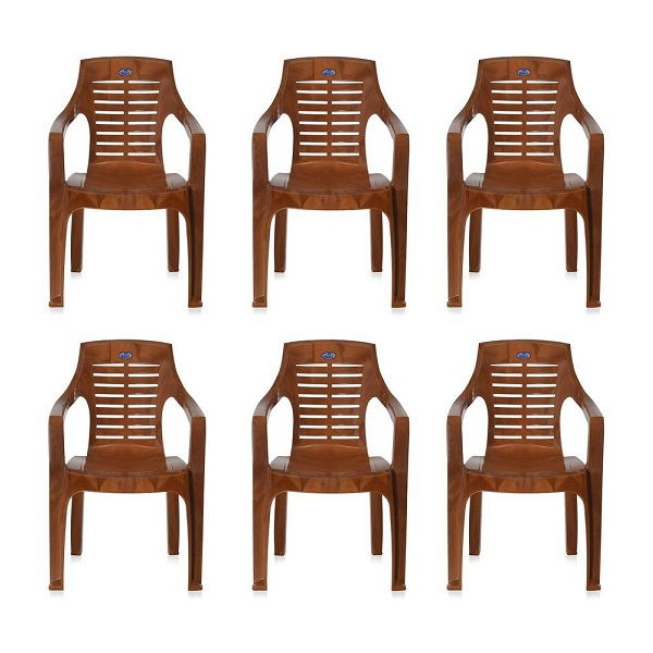 Nilkamal Set of 6 Chairs