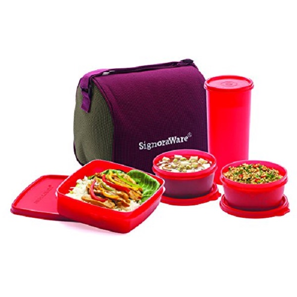 Signoraware Best Jumbo Lunch with Bag