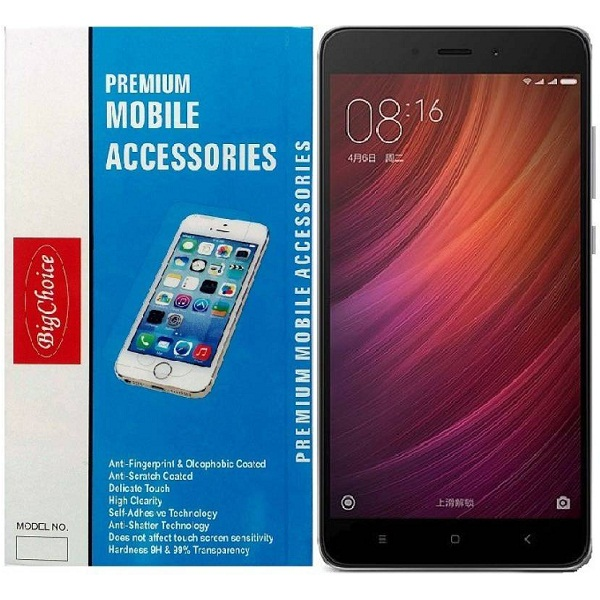 BigChoice Tempered Glass Guard for Xiaomi Redmi Note 4