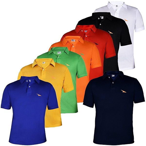 PRO Lapes Multicolor Polo TShirt Set of 8