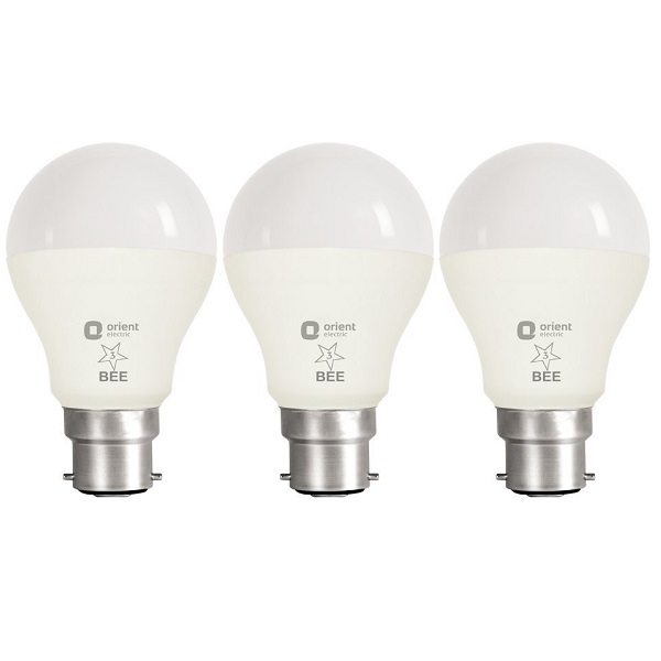 Orient 9Watt LED Bulb Pack of 3