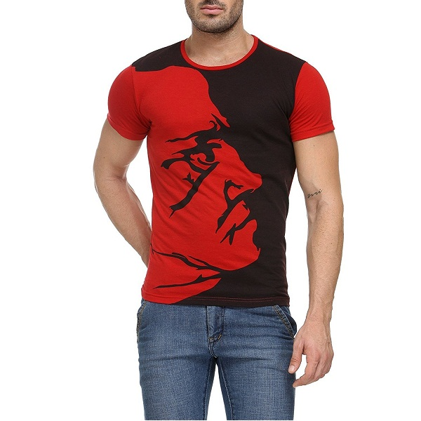 Teesort Mens Cotton Graphic TShirt