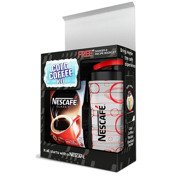 Nescafe Classic Coffee 50g with Free Shaker