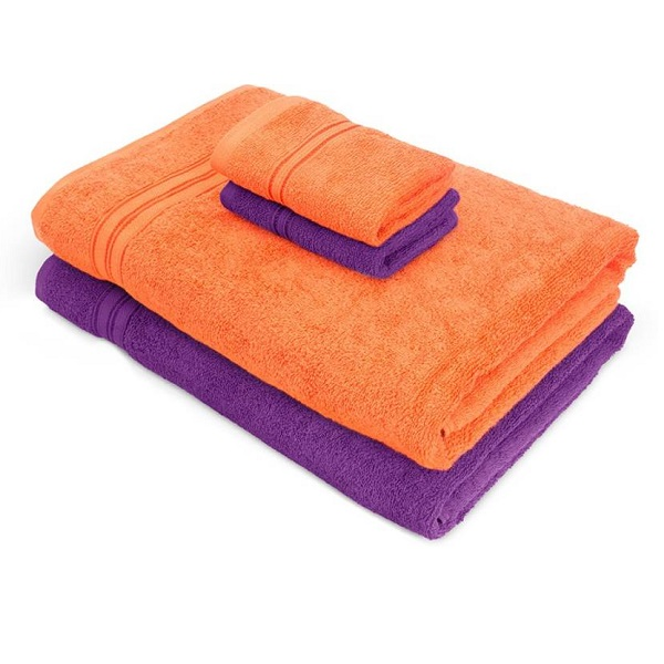 Swiss Republic Cotton Bath And Face Towel Set