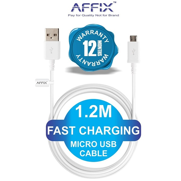 Affix Micro USB Cable
