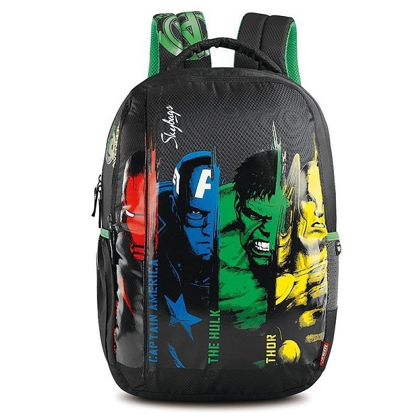 Skybags SB Marvel Avengers 26 Ltrs Black Casual Backpack