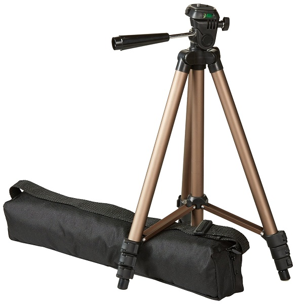 AmazonBasics 50Inch Tripod with Bag